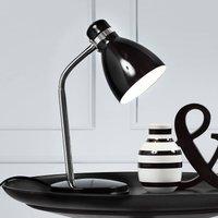 Modern table lamp CYCLONE black