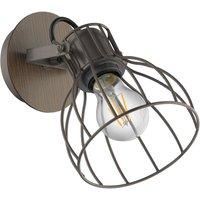 Sambatello wall lamp  cage lampshade  one bulb