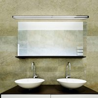 Arcos versatile wall light in chrome  150 cm