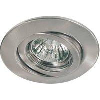 Premium VARIAS HV installed lamp brushed iron