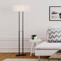 By Ryd ns Luton floor lamp  white black  150 cm