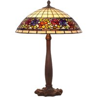 Distinctive table lamp FLORA  Tiffany style