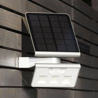 STEINEL XSolar L-S Solar-LED-Außenwandlampe silber