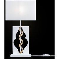 Intreccio table lamp  white