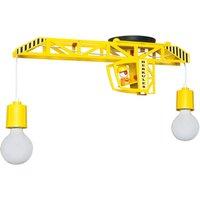Bodo crane shaped ceiling lamp