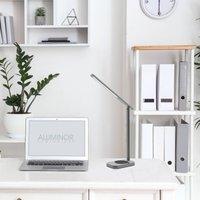 Aluminor Lunia LED table lamp with USB