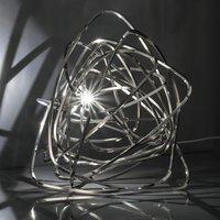Terzani Doodle   LED table lamp in nickel