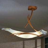Roma designer ceiling light 60 copper red