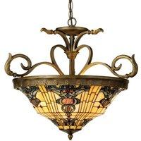 Tiffany style hanging lamp Anthia 2