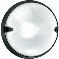 Round outdoor wall lamp CHIP white