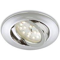 Adjustable LED recessed light Erik  chrome