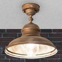 Riccardo ceiling light for outdoor use