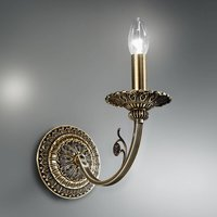 Wall light Pisani with an antique look