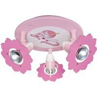 3 bulb Unicorn circular ceiling spot   adjustable