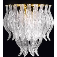 Petali wall light with Murano glass 33 cm