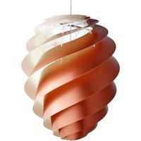 LE KLINT Swirl 2 large pendant light, copper