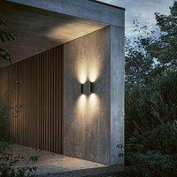 IP44 de Scap LED outdoor wall light  deep black