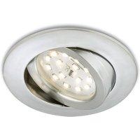 Pivotable LED recessed light Erik  aluminium