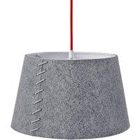 Grey felt   LED pendant light Alice  30 cm