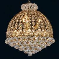 Opulent crystal chandelier Dora
