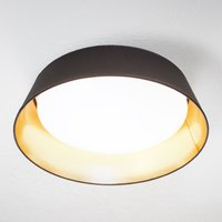 In black and gold   round Ponts LED ceiling lamp