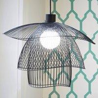 Forestier Papillon S pendant light 56 cm black