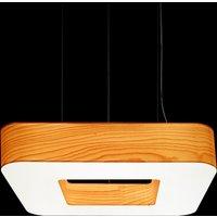LZF Cuad LED hanging light 0 10V dim natural beach