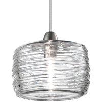 Damasco LED pendant lamp clear   12 cm