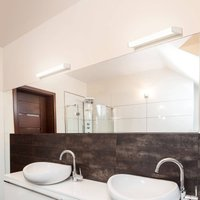 512 LED mirror light  3 000 K  88 cm  white