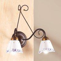 2 bulb CARTOCCIO wall light