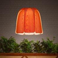 LZF Domo hanging light natural cherry wood