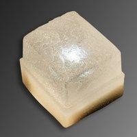 Paving stone Light Stone Concrete with LED 8 cm