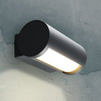 Timor LED outdoor wall light, adjustable light