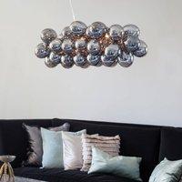 By Ryd ns Gross Bar pendant light  smoky grey