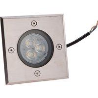Eckige LED-Bodeneinbauleuchte Ava, IP67