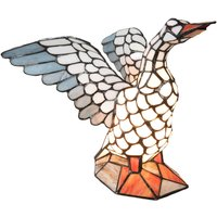 5928 table lamp  goose shape  Tiffany style