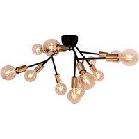 By Ryd ns Heroes ceiling lamp matt black  brass