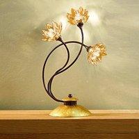 Fiorella table lamp  amber