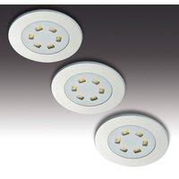 LED recessed light R 55 in set of three