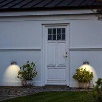 Appealing outdoor wall lamp Bergen  steel