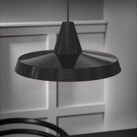 Flat pendant lamp Anniversary  black