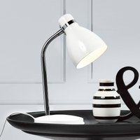 Modern table lamp CYCLONE white