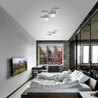 Side ceiling light  two bulb