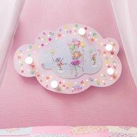 Princess Lillifee ceiling light with LEDs  cloud