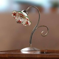 ROSOLACCI table lamp with a ceramic lampshade