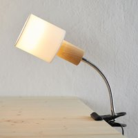 Clip on light Clampspots Flex with moving arm