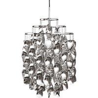 VERPAN Spiral Mini   hanging light in silver