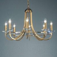 KOLARZ Imperial chandelier  brass  8 bulb
