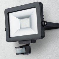 Theben theLeda B30L LED outdoor spotlight  black