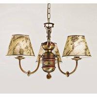 Impressive Nautica chandelier three bulb